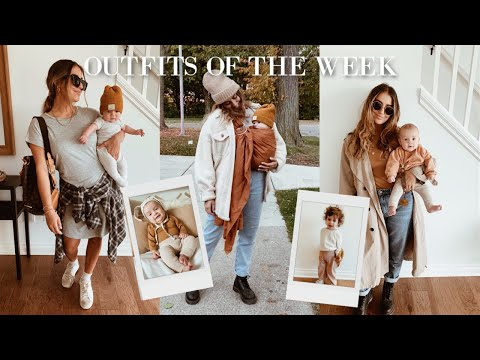 Fall Outfits Of The Week | Mom + Baby + Toddler
