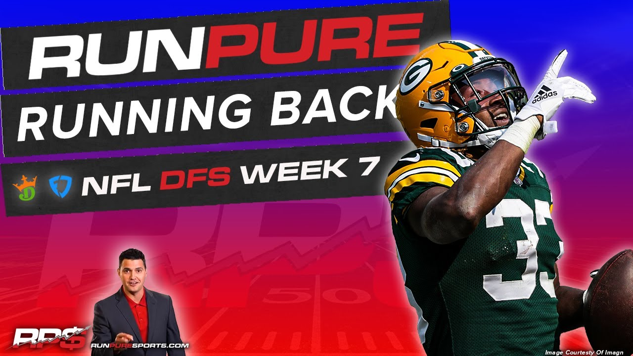 Nfl Dfs Week 7 Draftkings Fanduel Running Back Preview Youtube