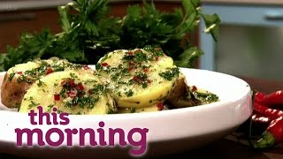 Gino D'acampo's Roast Balsamic Chicken With Smoked Pancetta | This Morning