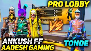 Ankush FF, Nepal's Highest Level Player & Yellow Criminal Squad Vs Tonde Gamer - Garena Free Fire