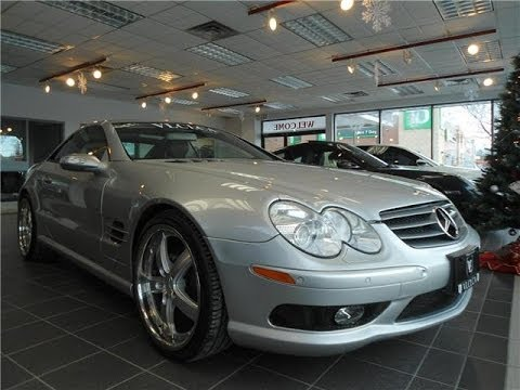 2005 Mercedes Benz Sl500 In Review Village Luxury Cars Toronto