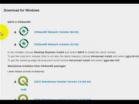 (1) Download QGIS from the QGIS.org website