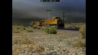 Rail Simulator Gameplay