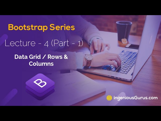 Data Grid in Bootstrap - Lecture 4 Part-1 - Urdu/Hindi - Bootstrap Series with AK