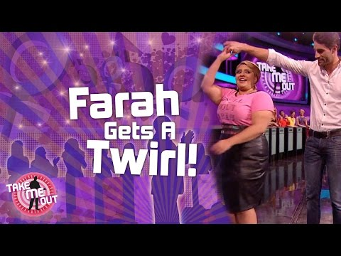 Farah Gets A Twirl - Take Me Out Series 7 Episode 10