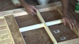 How To Build A Cabin  Door Part 2.mpg