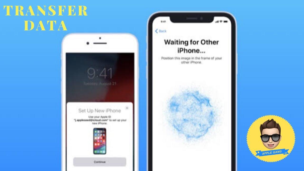 Cara backup data iphone,cara memindahkan data ke iphone baru