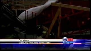 6 Hurt In School Scaffolding Collapse
