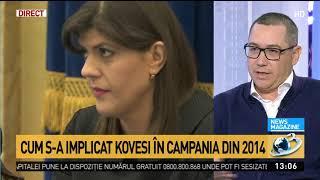Victor Ponta, dezvăluiri de ultimă oră. Cum s-a implicat Kovesi în campania din 2014