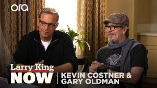 Kevin Costner and Gary Oldman on their iconic careers, politics and future roles
