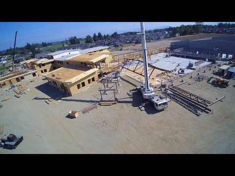 Lynden Middle School Lifting Brace Frame