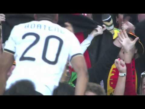 Lukas Podolski Goal Germany v England 2010 World Cup