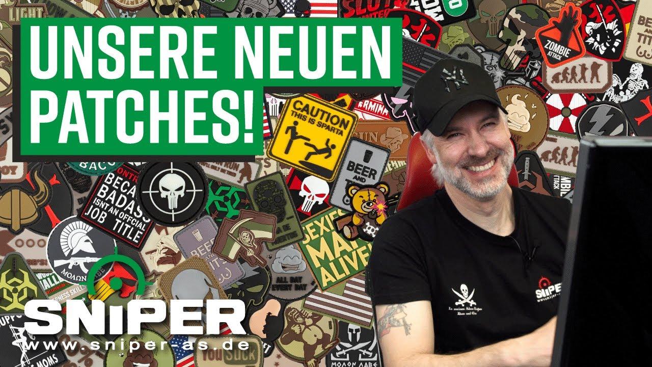 UNSERE NEUEN PATCHES MÜSST IHR SEHEN!   Airsoft Patches auf sniper-as.de