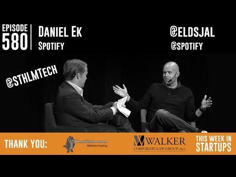 Spotify's Daniel Ek on state of streaming, tenacity, transparency, competition, what's next