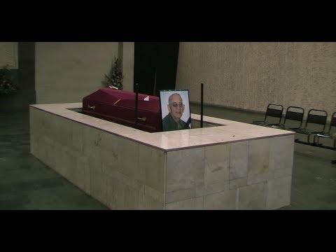 Пять лет назад ушёл Натан Лейтес - Санкт-Петербургский крематорий. Прощание с Натаном.
