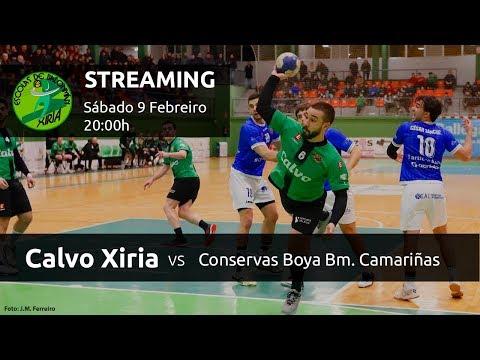 Calvo Xiria - Conservas Boya Bm. Camariñas  (1ª División Nacional de Balonmano - Grupo A)