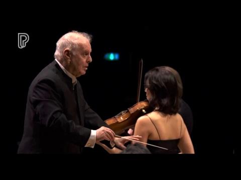 MOZART~ Sinfonia Concertante , K.364 -  DANIEL BARENBOIM/Staatskapelle Berlin