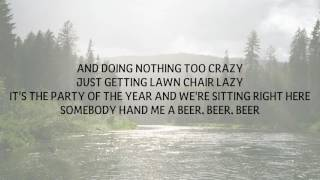 JAMES BARKER BAND - LAWN CHAIR LAZY LYRICS