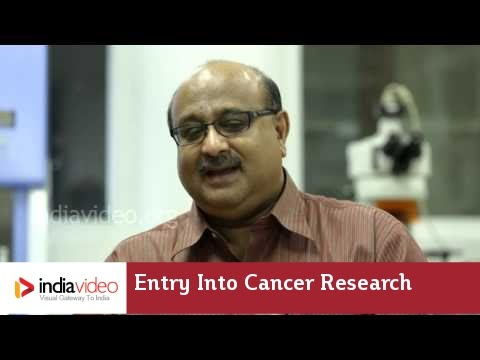 Cancer Research and Dr. Radhakrishna Pillai