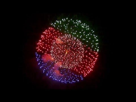 2014 New Year Fireworks in Crystal Mountain 新春水晶山煙火