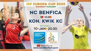 IKF ECup 2020 NC Benfica - Kon. Kwik KC