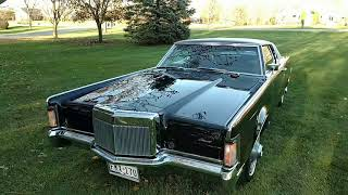 1969 Lincoln Mark III with 69,200 original miles !!!!!   SOLD !!