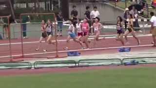 第68回大阪高等学校陸上競技対校選手権大会 女子1500m予選1組 2015.05....