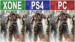For Honor – Xbox One vs. PS4 vs. PC Graphics Comparison FullHD 60fps