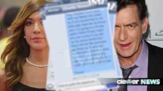 charlie sheen disses farrah abraham funny texting pics