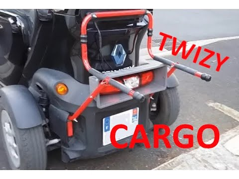 Renault Twizy Cargo Luggage Carrier Test Test Du Porte