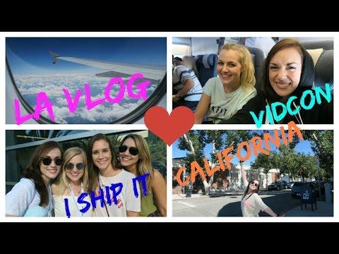 VLOG  OUR TRIP TO LA PART 1