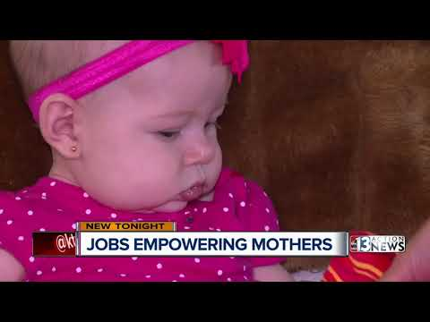 Las Vegas business owner helps empower mothers