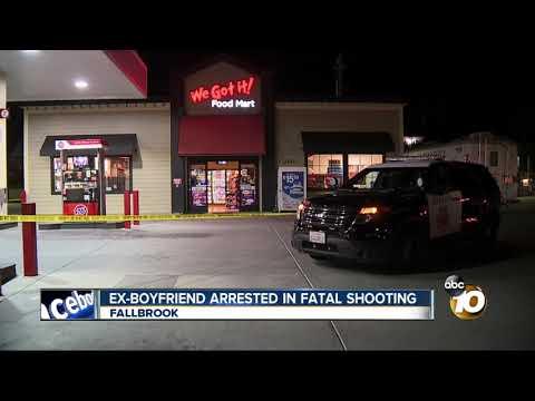 Ex-boyfriend arrested in fatal Fallbrook shooting