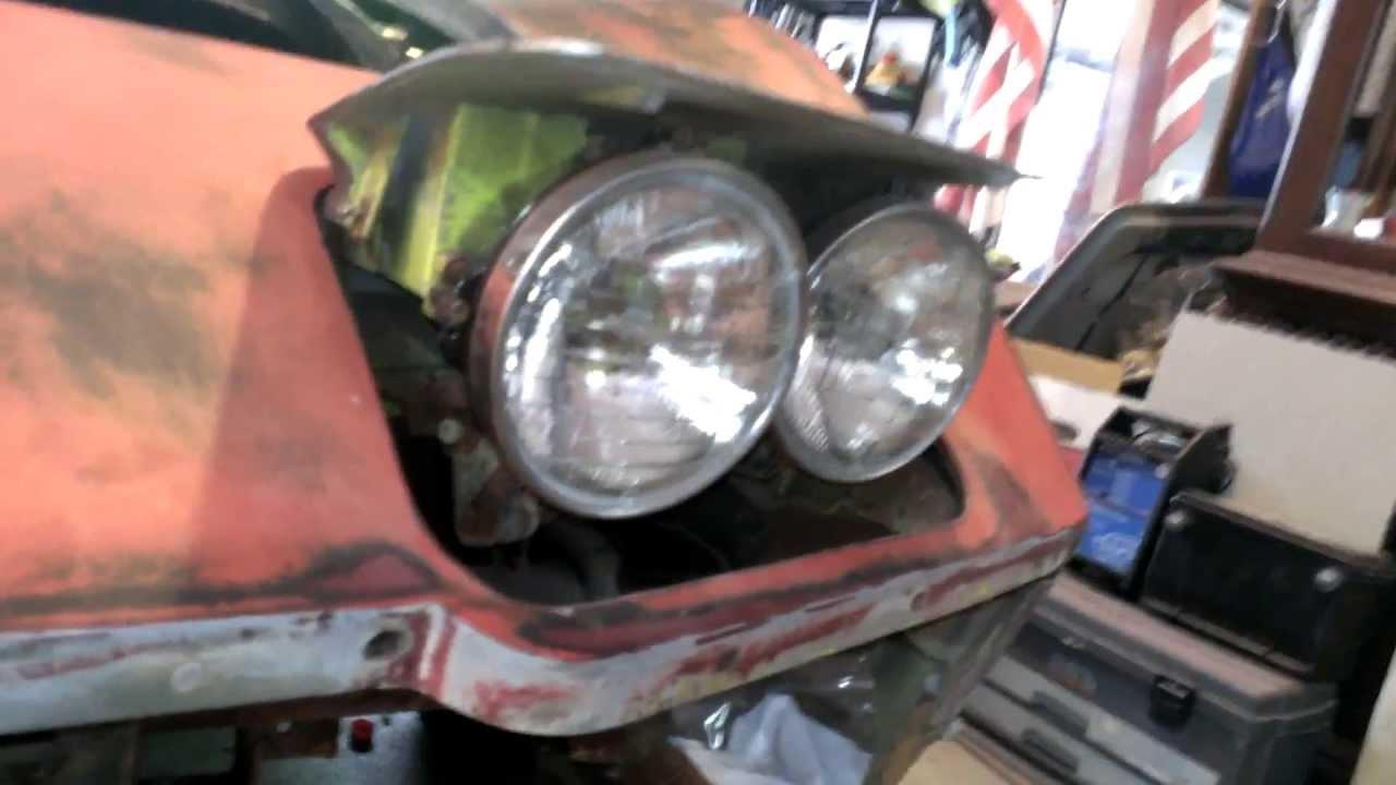 1969 Corvette Wiring Diagram C3 Corvette Headlight Removal Easy Bolt Locator Youtube