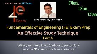 FE Exam Preparation Part 6
