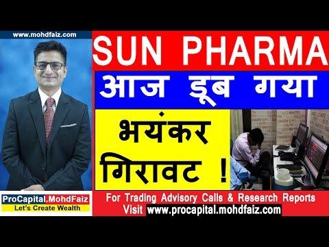 SUN PHARMA SHARE NEWS आज डूब गया भयंकर गिरावट !