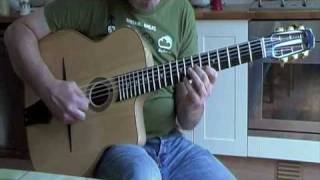 Minor Swing arpeggio exercise: gypsy jazz guitar lesson