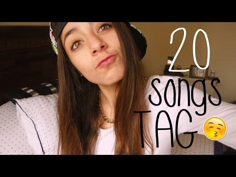 ¿QUE MUSICA ESCUCHO?♥ 20 SONG TAG | ValentinaGonzzz