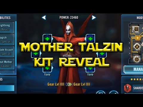 Star Wars: Galaxy Of Heroes - Mother Talzin Kit Nightsister Rework