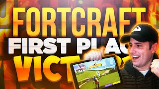 FortCraft - 1st PLACE WIN - FortCraft Beta Gameplay - Mobile Fortnite