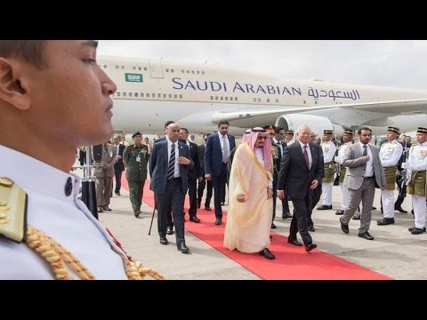 挑戰新聞軍事精華版--沙國國王亞洲行大陣仗,大秀油國有錢就是狂