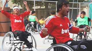 Afghanistan's Wheelchair Basketball Team