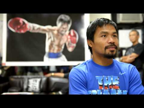 Manny Pacquiao Interview After Getting Knocked Out