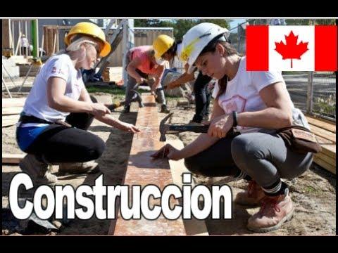 Trabajos  de construcción en Canadá, cuanto pagan?