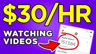 Make Money Now WATCHING VIDEOS! - PayPal Money Machine!
