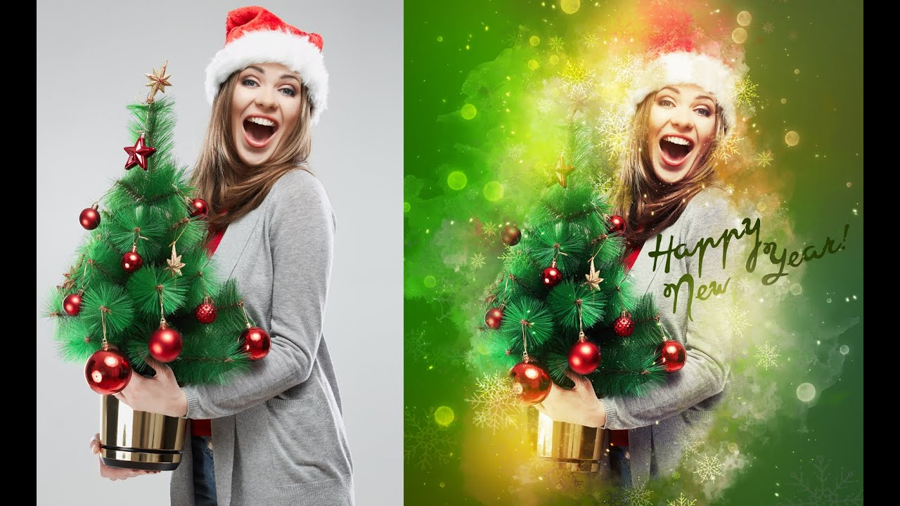 Holiday photoshop tutorials image collections any tutorial examples christmas 2 photoshop effect tutorial youtube christmas 2 photoshop effect tutorial baditri image collections baditri Choice Image