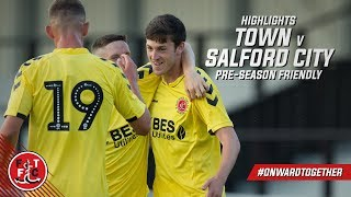 Salford City 0-4 Fleetwood Town | Highlights
