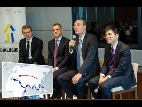 BRICS' New Development Bank Vice President & EY Executives Discuss New Silk Road at CEIBS Event