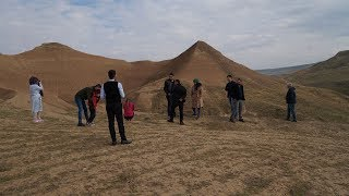 Piramit Tepeler Vatandaşları Heyecanlandırdı