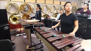 GV Winter Percussion 2016 Ballad